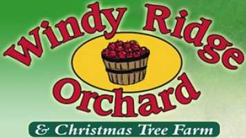 Tie-10) Windy Ridge Orchard and Christmas Tree Farm in North Haverhill