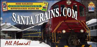 Dec. 8: Santa Express Trains aboard the Hobo Railroad. Trains run every Saturday and Sunday through Dec. 21.Located in Lincoln. TIckets are $15-20.