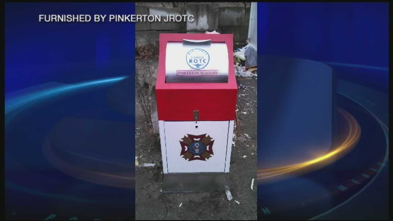 Missing flag drop box recovered