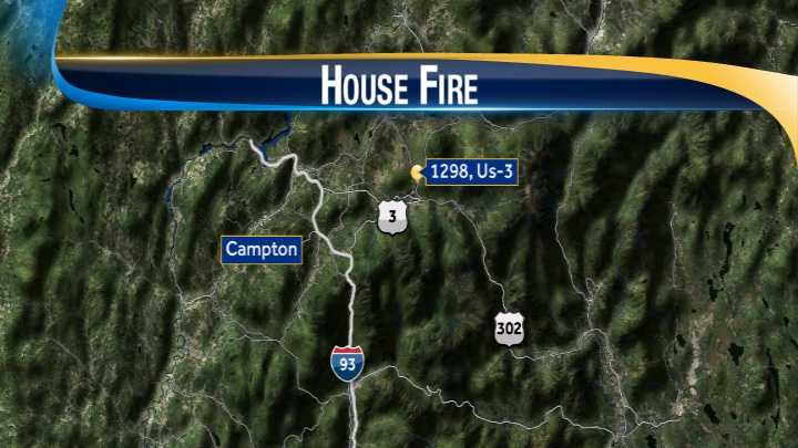 map-Campton fire