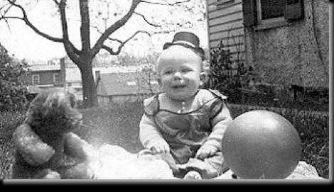 Fritz Wetherbee as a baby