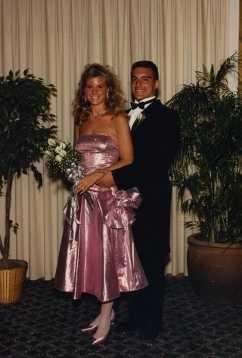 Jennifer Vaughn at prom