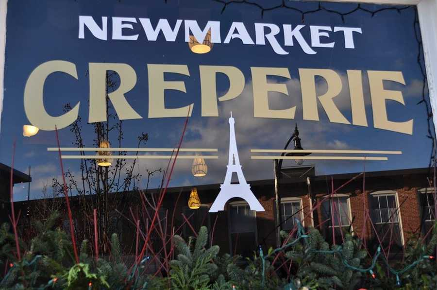 Tie-9) Newmarket Creperie in Newmarket