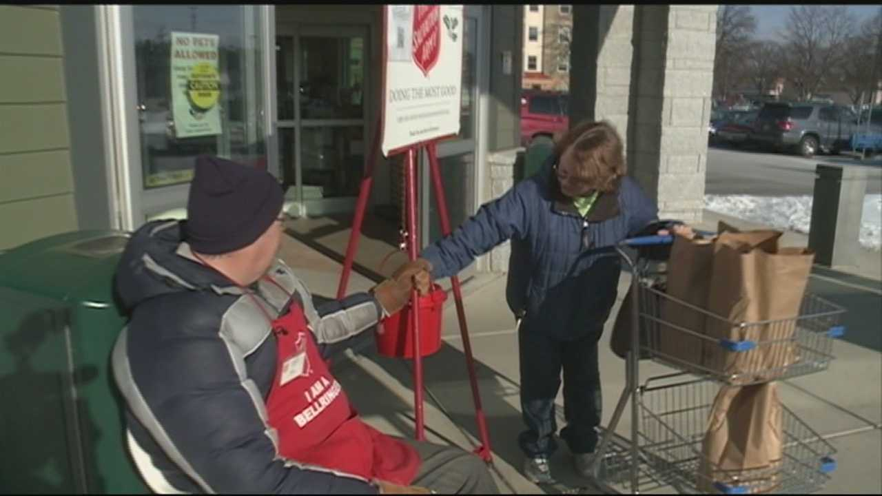 Salvation Army kettle campaign donations down