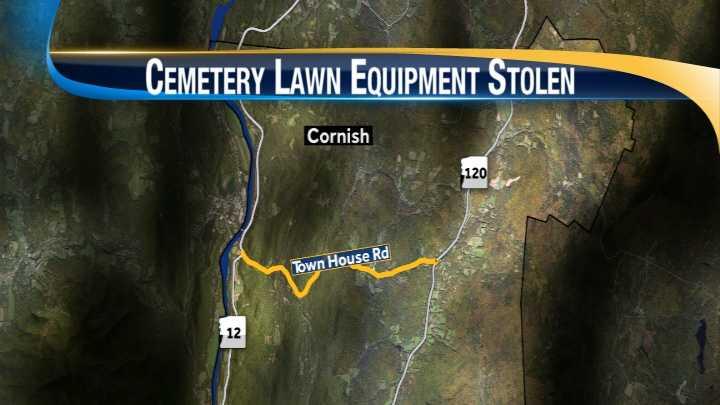 map-Cornish cemetery theft