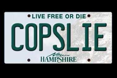 "A Dover man sued the state over its denial of the vanity license plate ""COPSLIE.""Read more: http://www.wmur.com/page/search/htv-man/news/nh-news/farmington-man-fights-denial-of-copslie-vanity-plate/-/9857858/22848302/-/lexg3l/-/index.html"