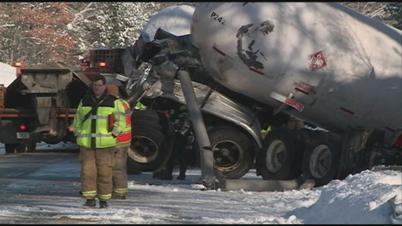 Interstate 293 reopens after accident