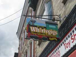 1.Whirlygigs Toy Shop in Exeter