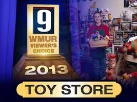 This week we asked our viewers for their choice of the best local toy stores in New Hampshire.