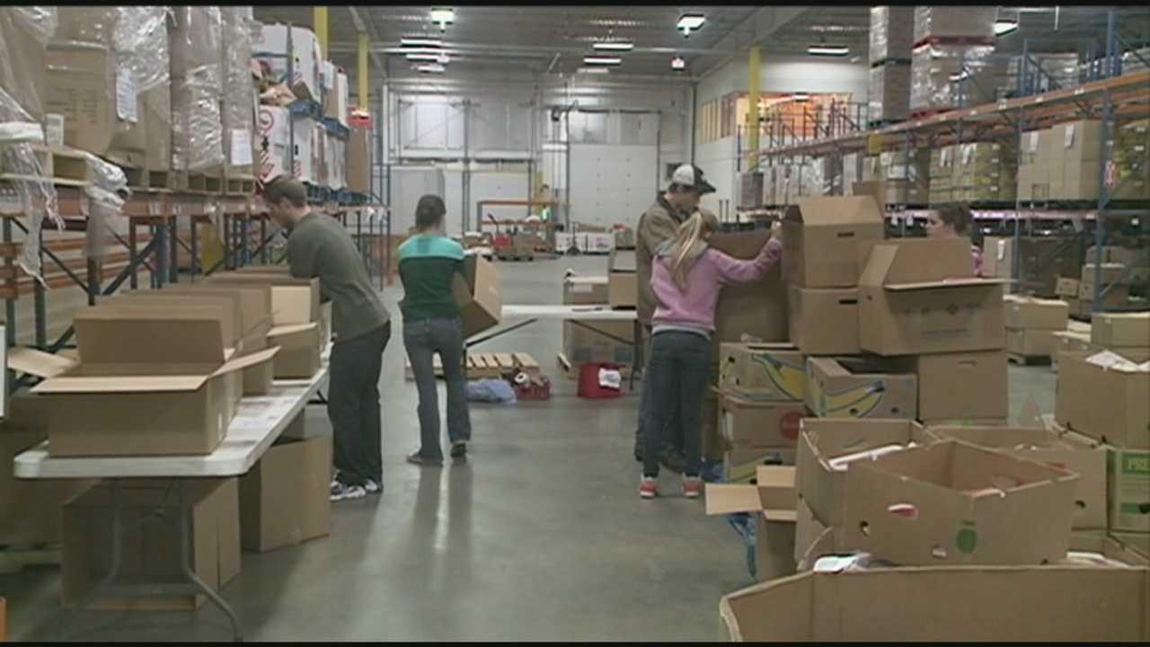 Food drive will help needy over holidays