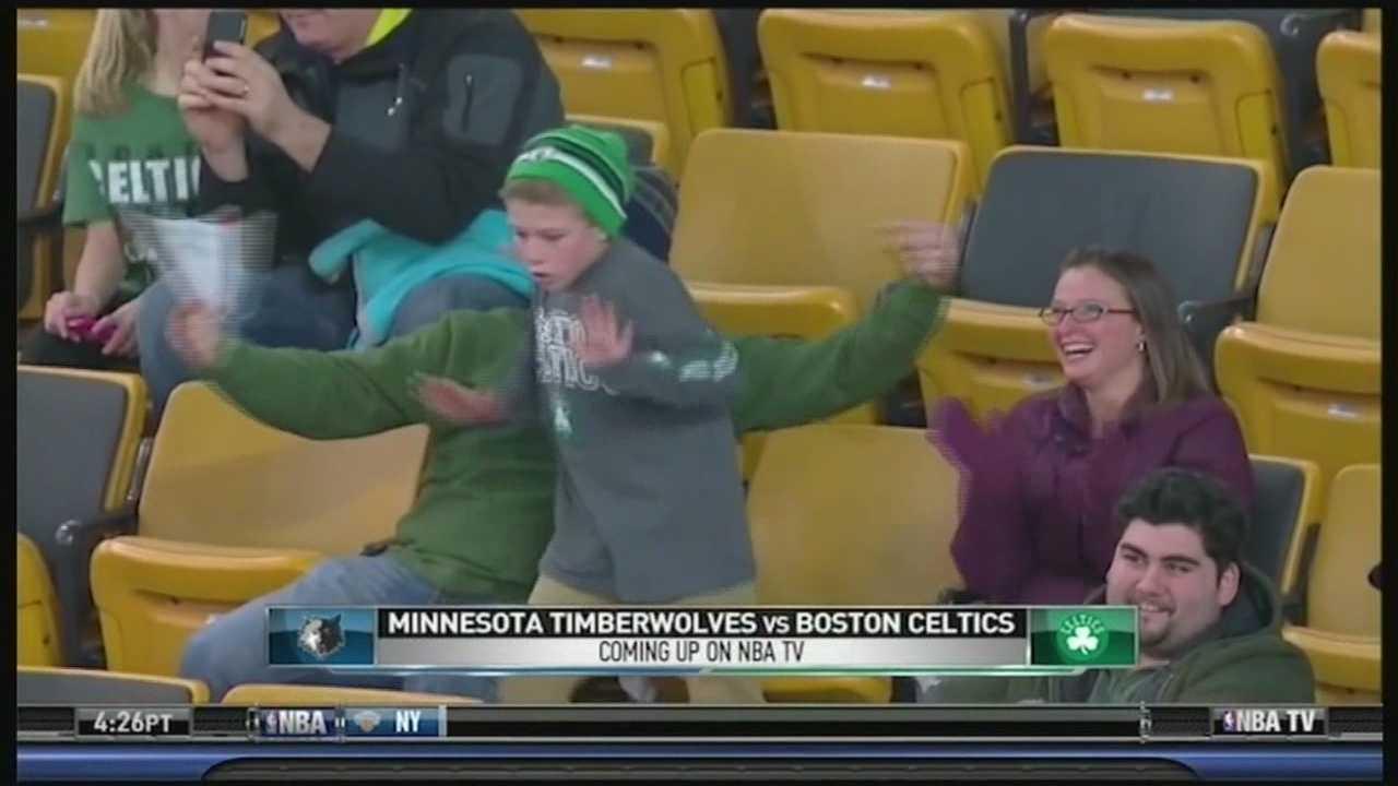 Celtics dancer goes viral