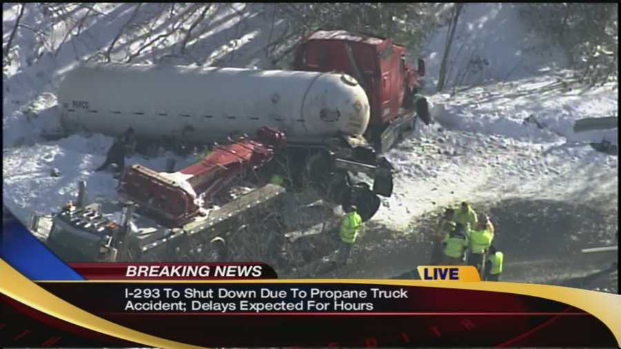 Update: Police plan to close I-293 after tanker crashWatch: http://www.wmur.com/page/search/htv-man/news/nh-news/Update-Police-plan-to-close-I-293-after-tanker-crash/-/9857858/23545536/-/8u50fq/-/index.html