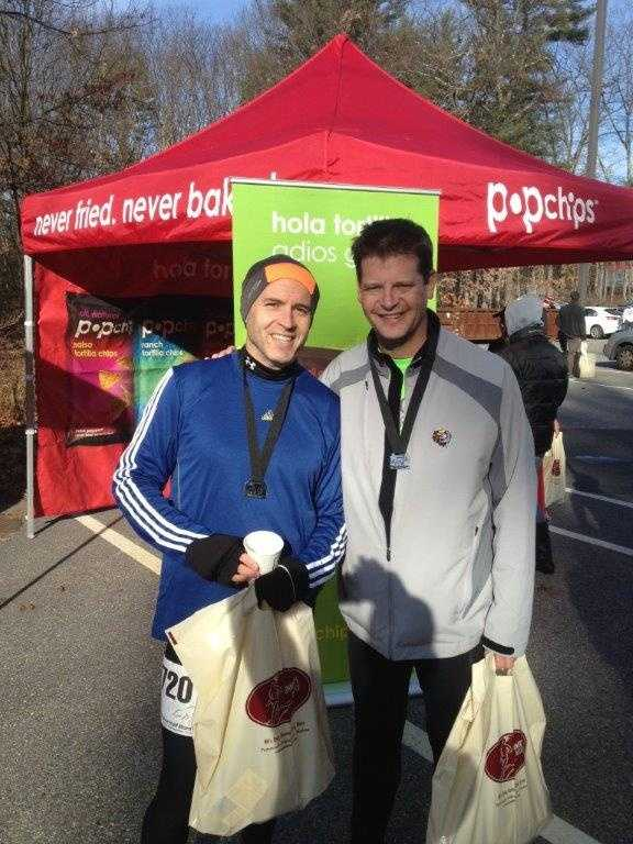 The Wolf Hollow Half Marathon, with Jim Lord.