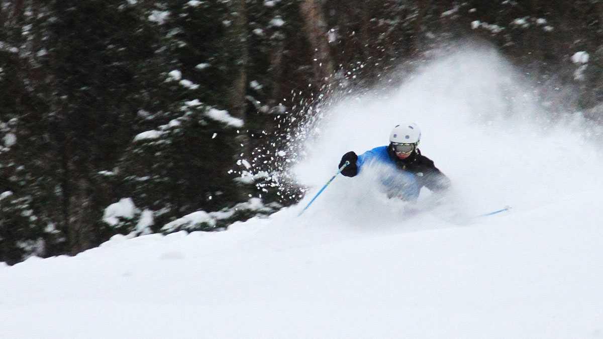 Skier Bryce Hanrahan