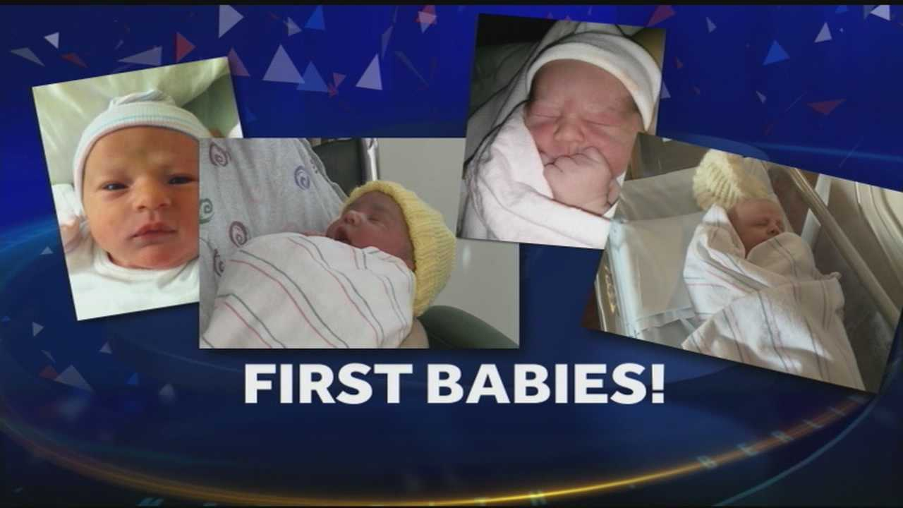 Meet the first babies of 2014 in New Hampshire!