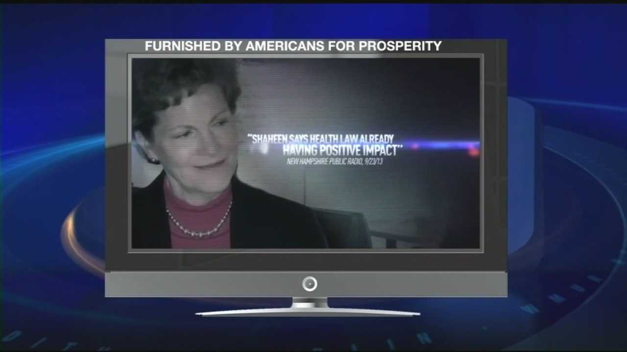 Ad targets Shaheen on health care