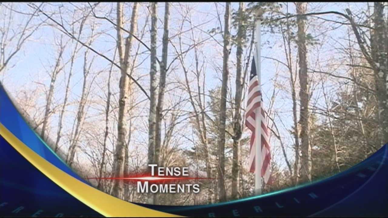 Flag Pole Incident