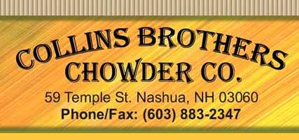 4) Collins Brothers Chowder Co. in Nashua