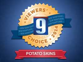 Hungry? Grab one of our favorite football foods, potato skins. So, we asked our viewers who serves the best potato skins in the Granite State!