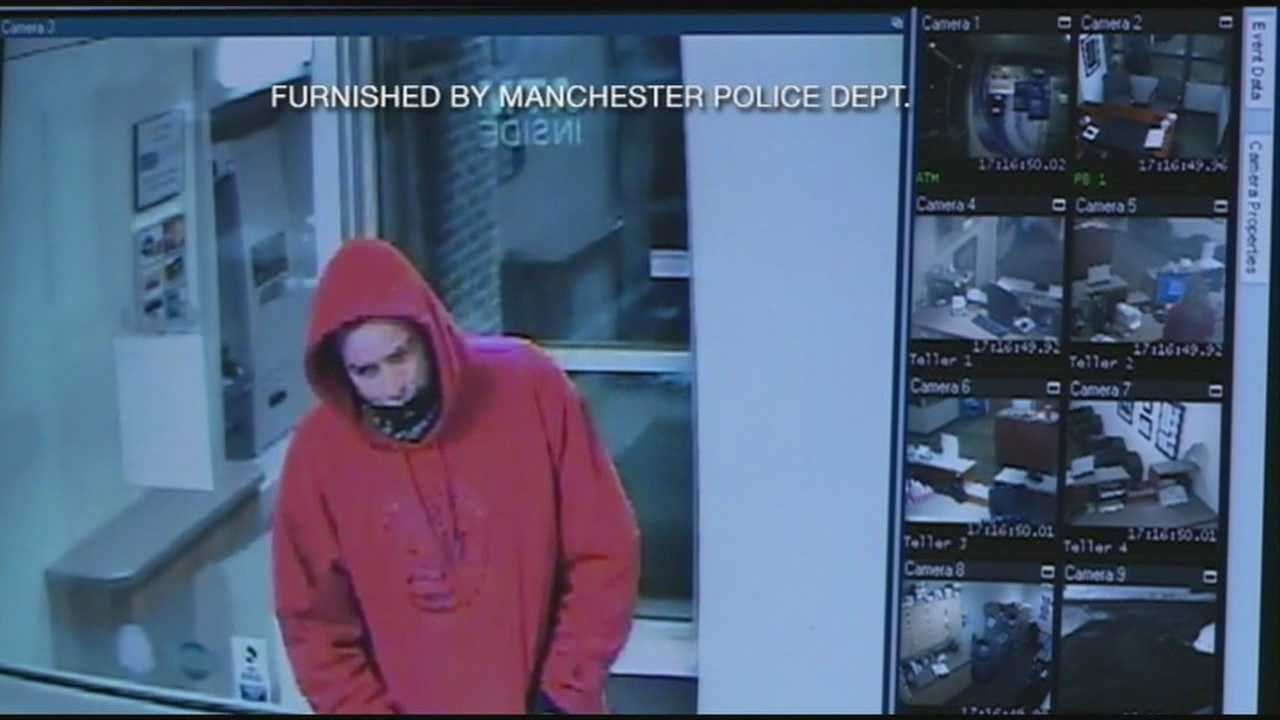 Police Looking For Bank Robbery Suspect