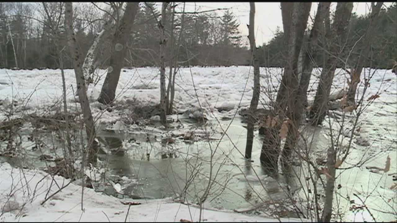 Ice jams form on NH rivers