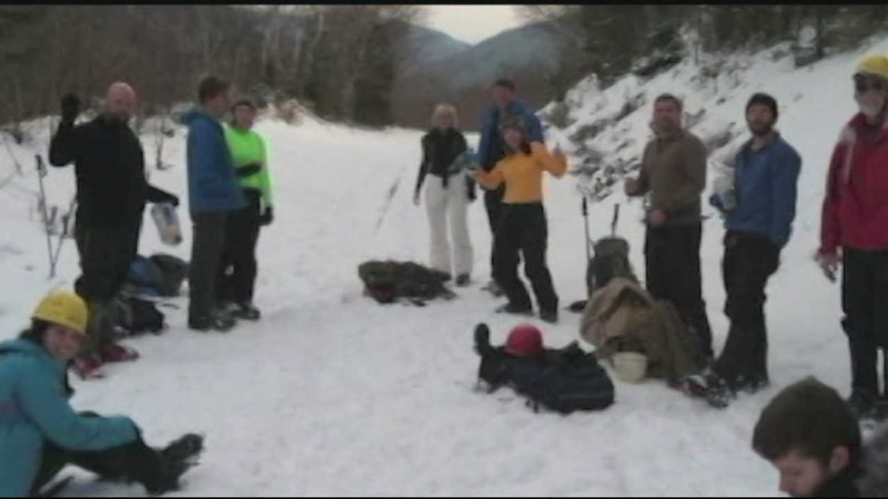 Mount Washington Hiker Rescue
