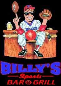 Tie-14) Billy's Sports Bar & Grill in Manchester