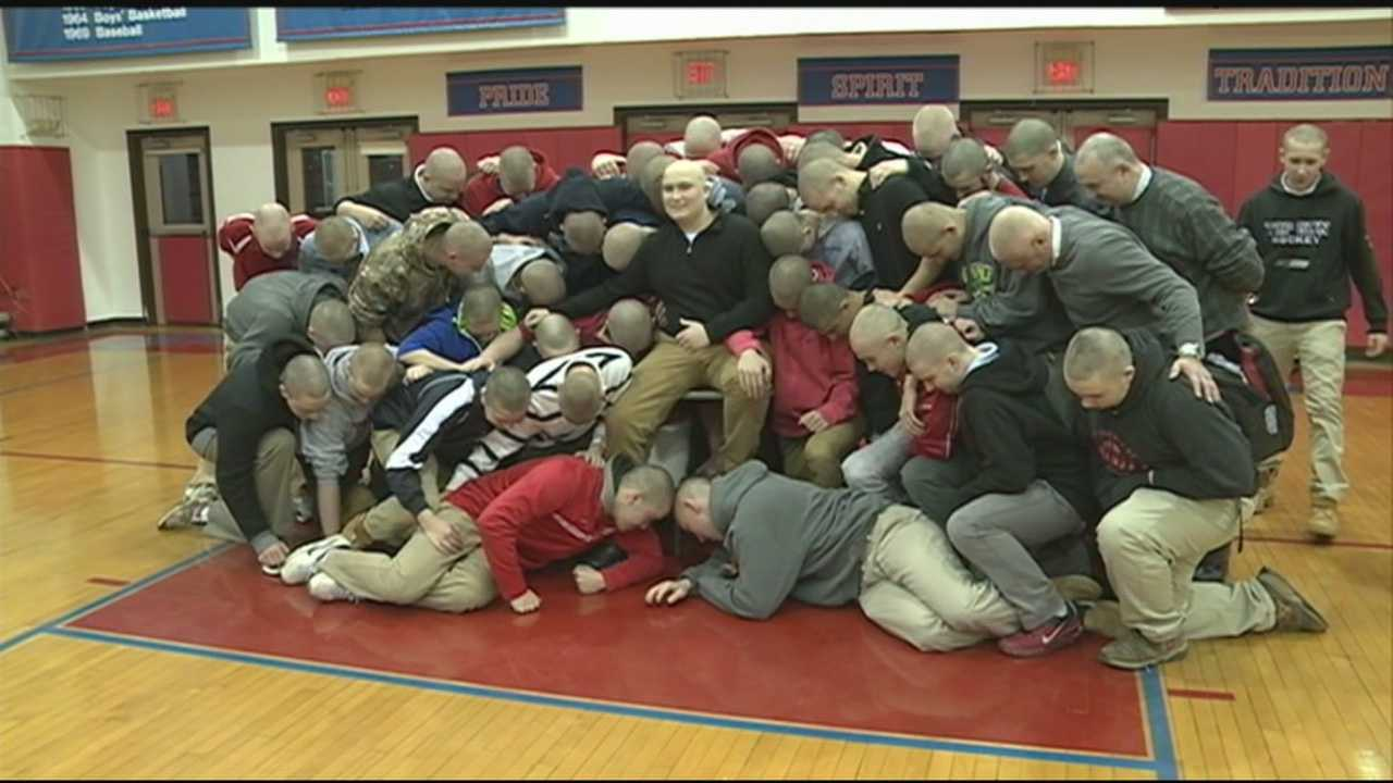Trinity students show support for classmate fighting cancer