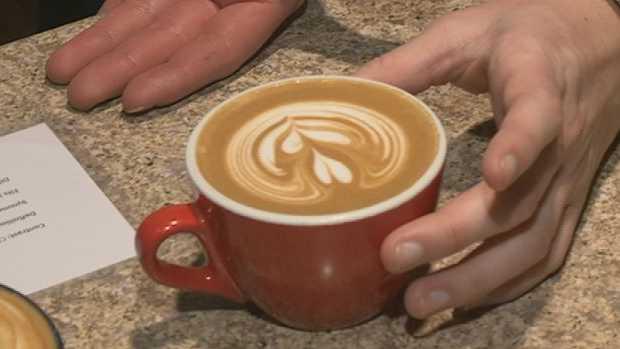 Latte Throwdown