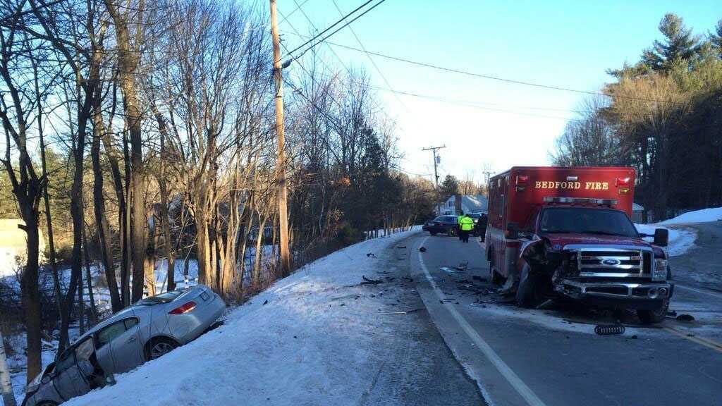 Bedford ambulance crash