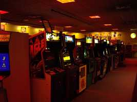 The world's largest arcade is Funspot, located near Lake Winnipesaukee.