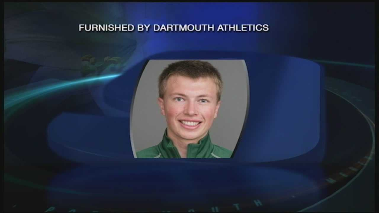 Dartmouth junior Torin Tucker collapsed and died during a cross-country skiing event in Vermont Saturday.