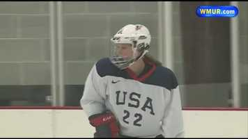 Kacey Bellamy, a University of New Hampshire graduate, will be competing for the Women's Ice Hockey team.Learn more about Kacey:http://www.wmur.com/news/sports/kacey-bellamy-westfield-mass-ice-hockey/-/9857950/24154128/-/ivqi7r/-/index.html.