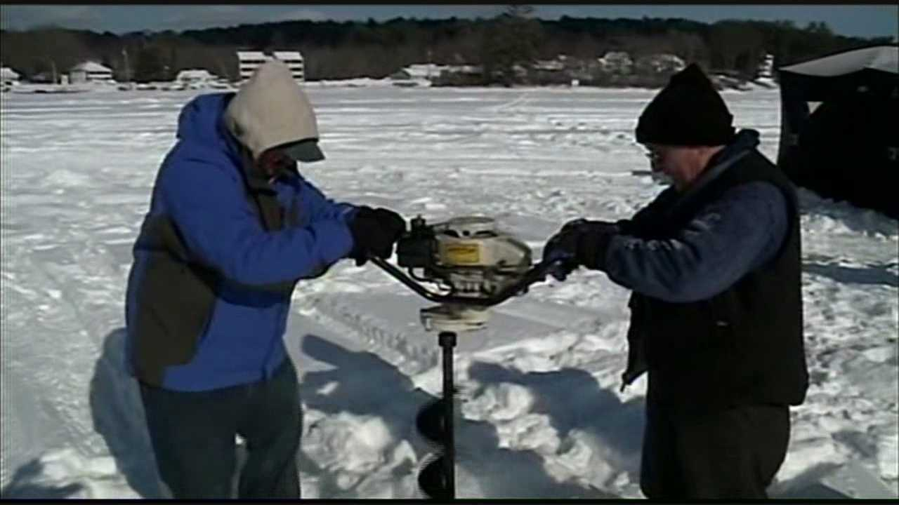 Ice fishers prepare for derby