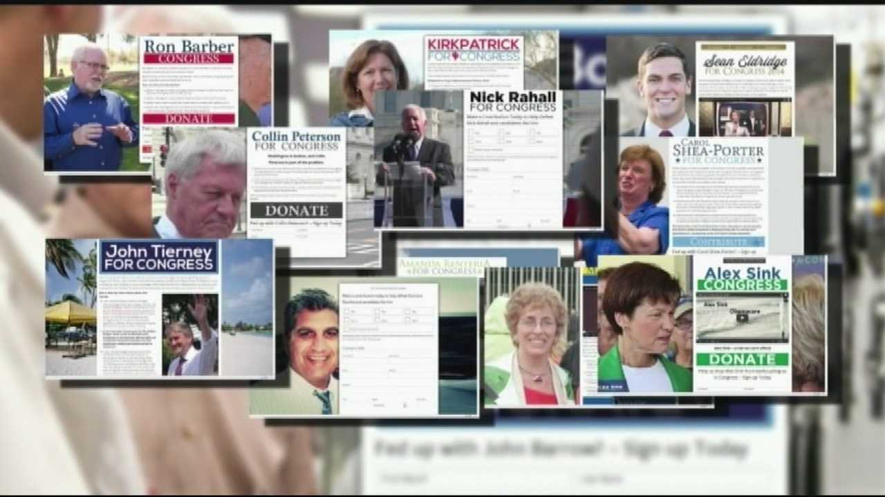 GOP sites at first appear to be for Democratic candidates