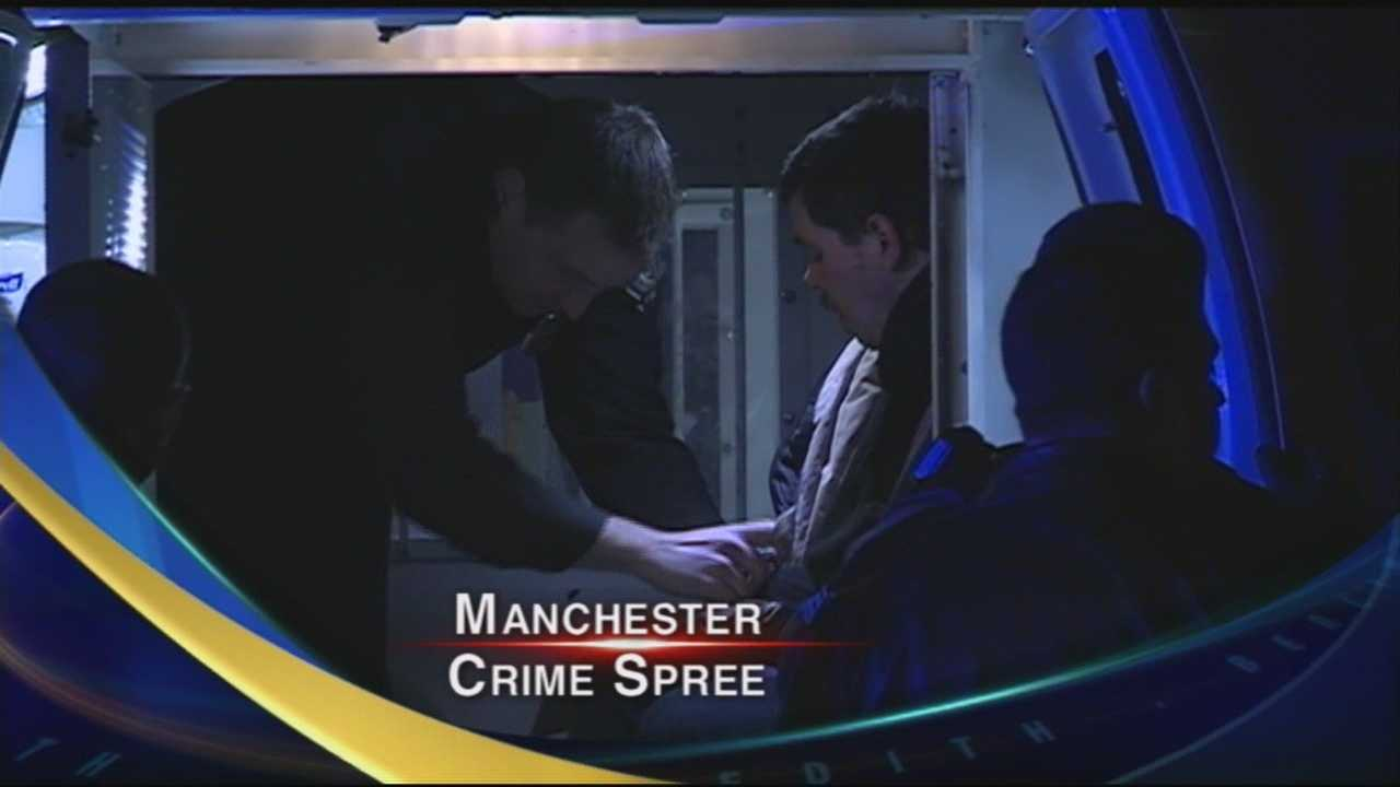 Manchester Robbery Spree