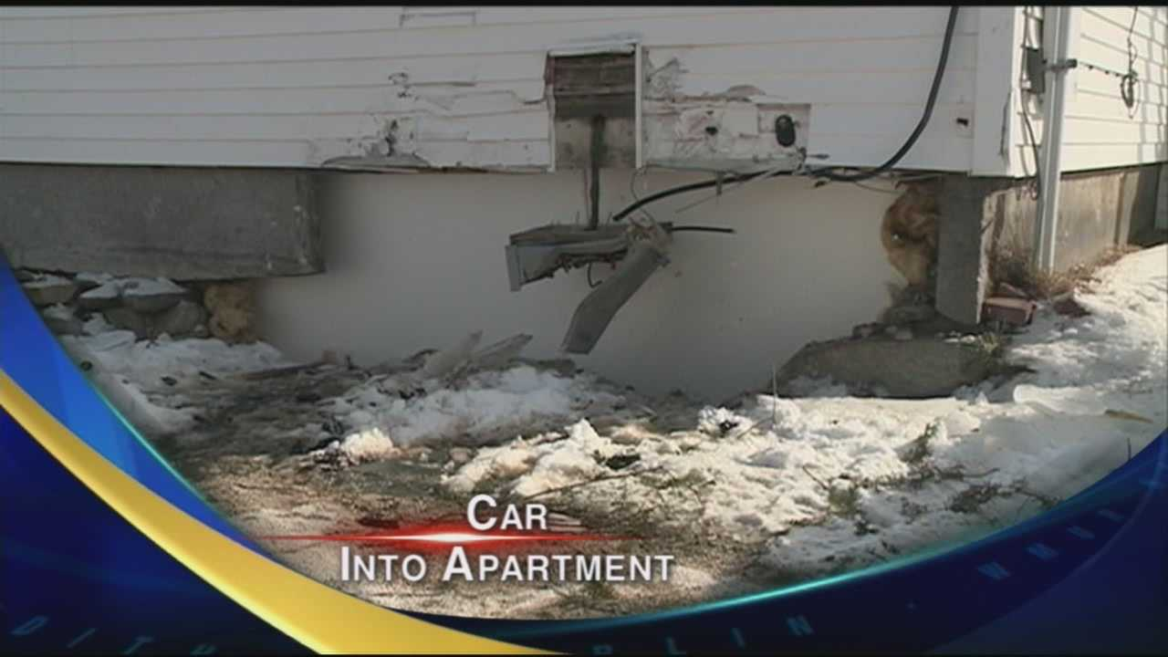 Alleged drunk driver slams into building