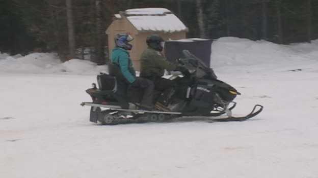 Erin Snowmobiling