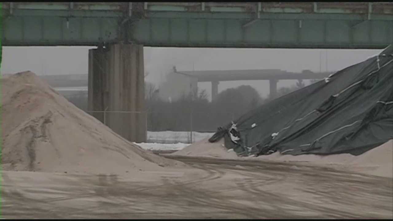 Salt supplies dwindle over tough winter