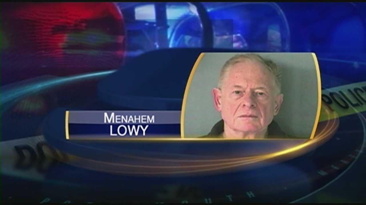 Man arrested after allegedly blocking plow