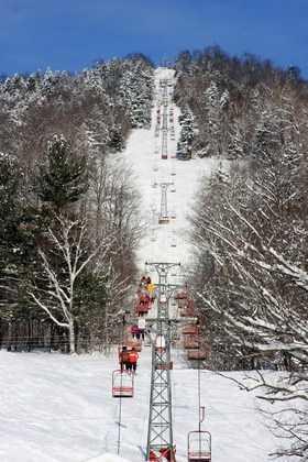 13 tie) Black Mountain Ski Area in Jackson