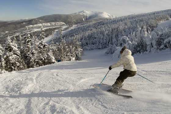 1) Cannon Mountain Ski Area in Franconia