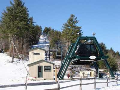5) King Pine Ski Area in Madison