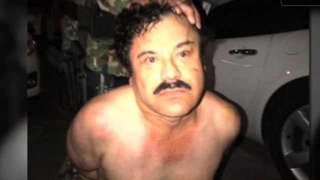 el chapo arrest photo