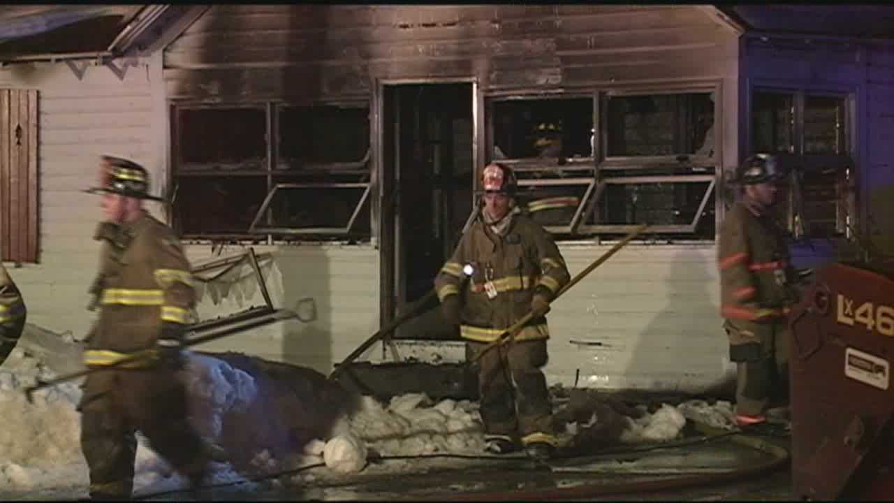 Fire Heavily Damages Merrimack Home