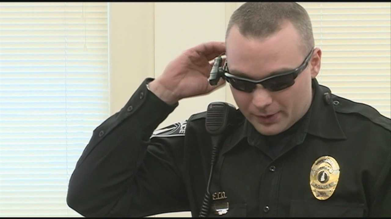 Cameras record officers' interactions with public