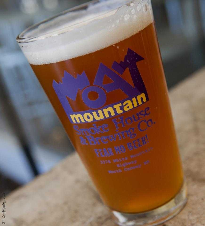 6 tie) Moat Mountain Smoke House & Brewing Co. in North Conway