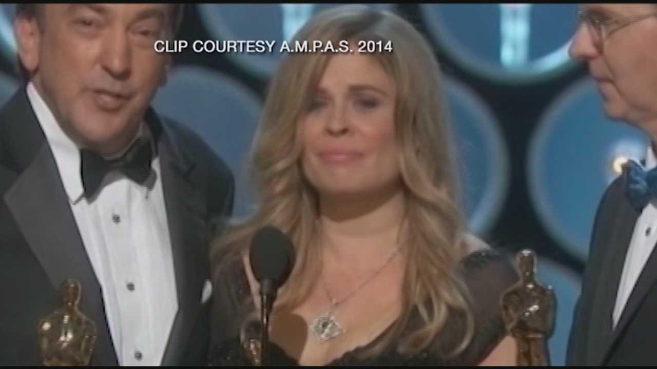 UNH grad wins Oscar for 'Frozen'