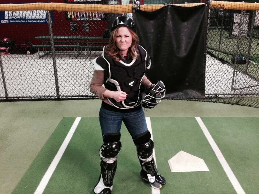 Erin Fehlau and Sean McDonald grab their bat and glove and hit the batting cages this week on New Hampshire Chronicle!