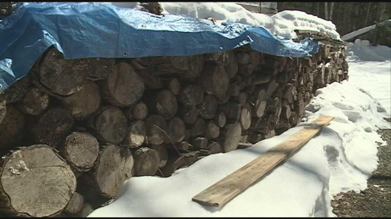 Firewood stolen in Raymond